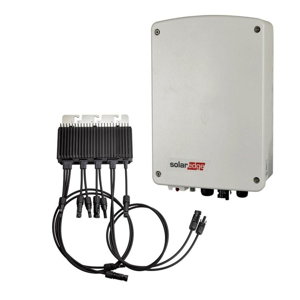 SolarEdge 1PH Wechselrichter, 1,5 kW mit kompakter Technologie, einfacher Kommunikation und M2640 Power Optimierer