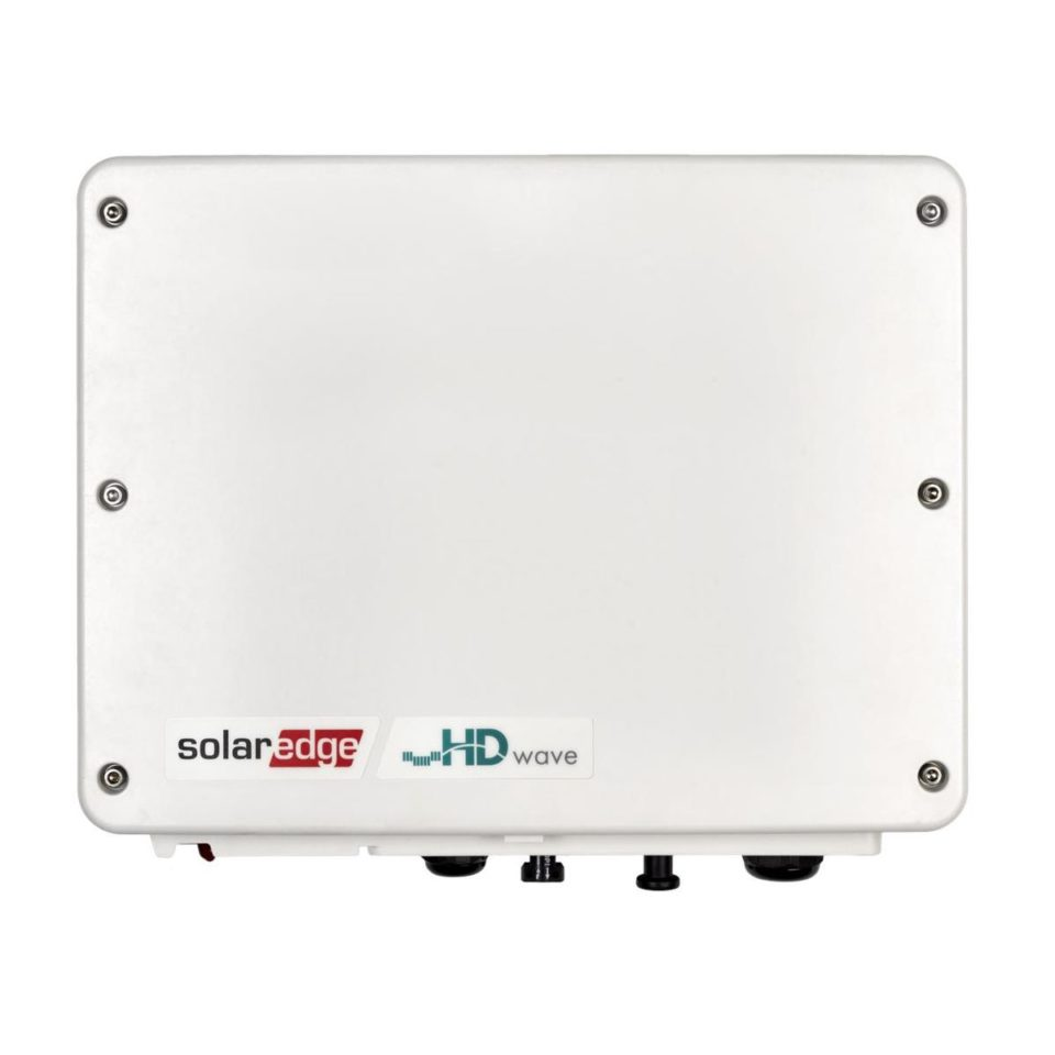 SolarEdge 1PH Wechselrichter, 6,0 kW, HD-Wave-Technologie, mit SetApp-Konfiguration