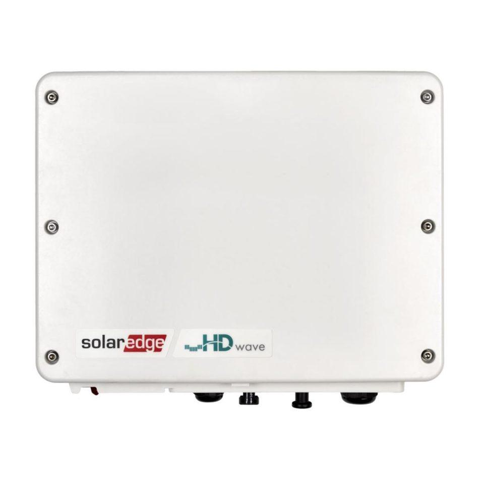 SolarEdge 1PH Wechselrichter, 3,68 kW, HD-Wave-Technologie, mit SetApp-Konfiguration