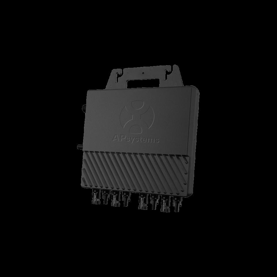 APSystems QS1 (1200) Mikro-Wechselrichter um 4 Module zu verbinden | Einphase 230V AC-50Hz | 60/72 Zellen