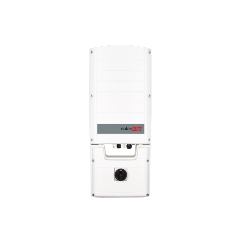 SolarEdge 3PH Inverter, 33,3 kW, Glands, DC safety unit with switch, AC & DC SPD, Fuses, RSD, with SetApp configuration