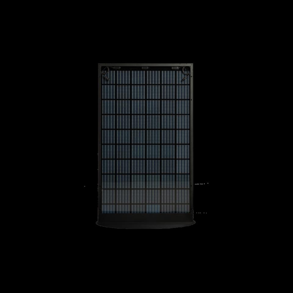 Rückseite des SoliTek BLACKSTAR (Solid Framed) B.60-360