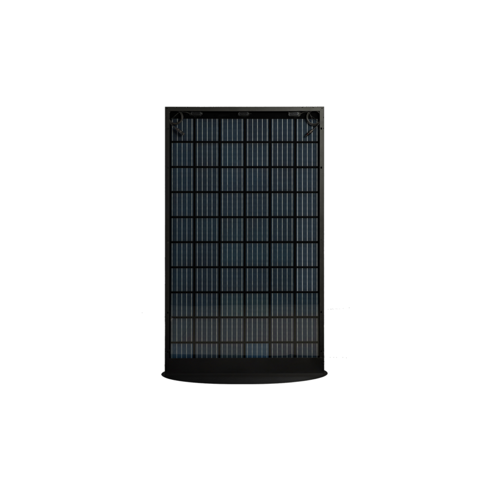 Rückseite des SoliTek BLACKSTAR (Solid Framed) B.60-330