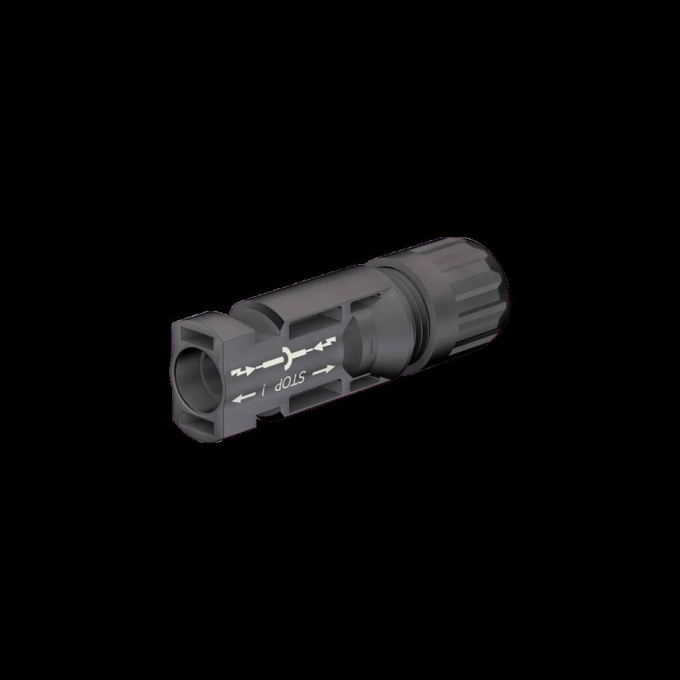Stäubli männliche Kabelkopplung MC4 (5-6 mm)