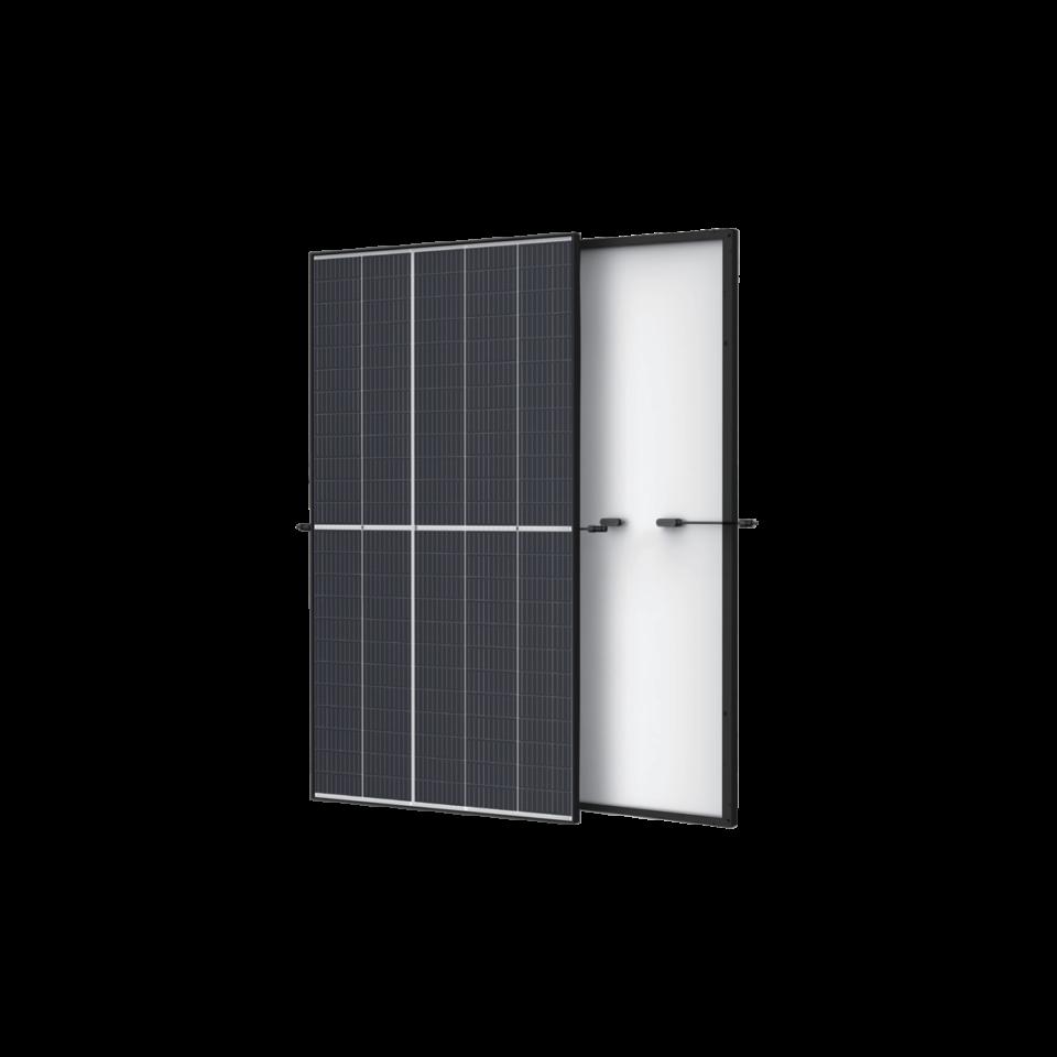 Trina Vertex Mono 400 W - Halbzellen Schwarzer Rahmen