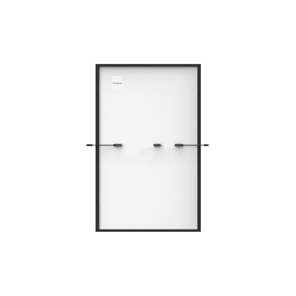 Trina Vertex S Mono PERC 380 W - Komplett Schwarz (Half-Cut 1500V)