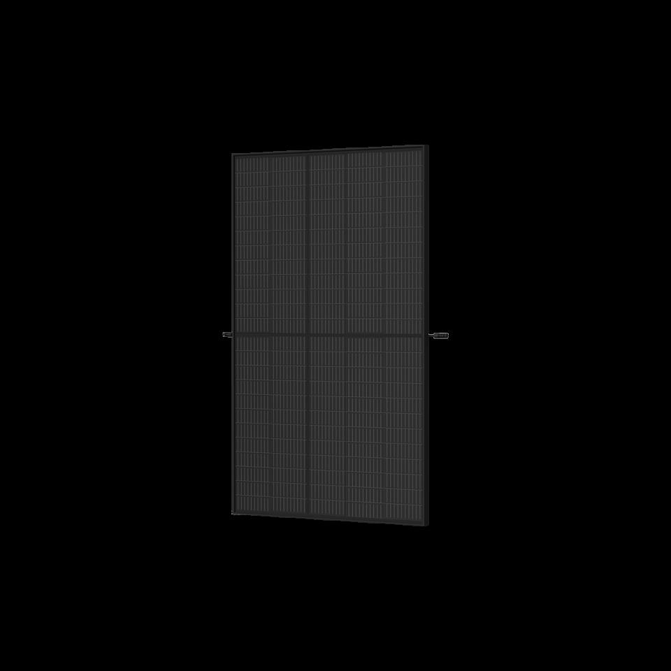 Trina Vertex S Mono PERC 390 W - Komplett Schwarz (Half-Cut 1500V)
