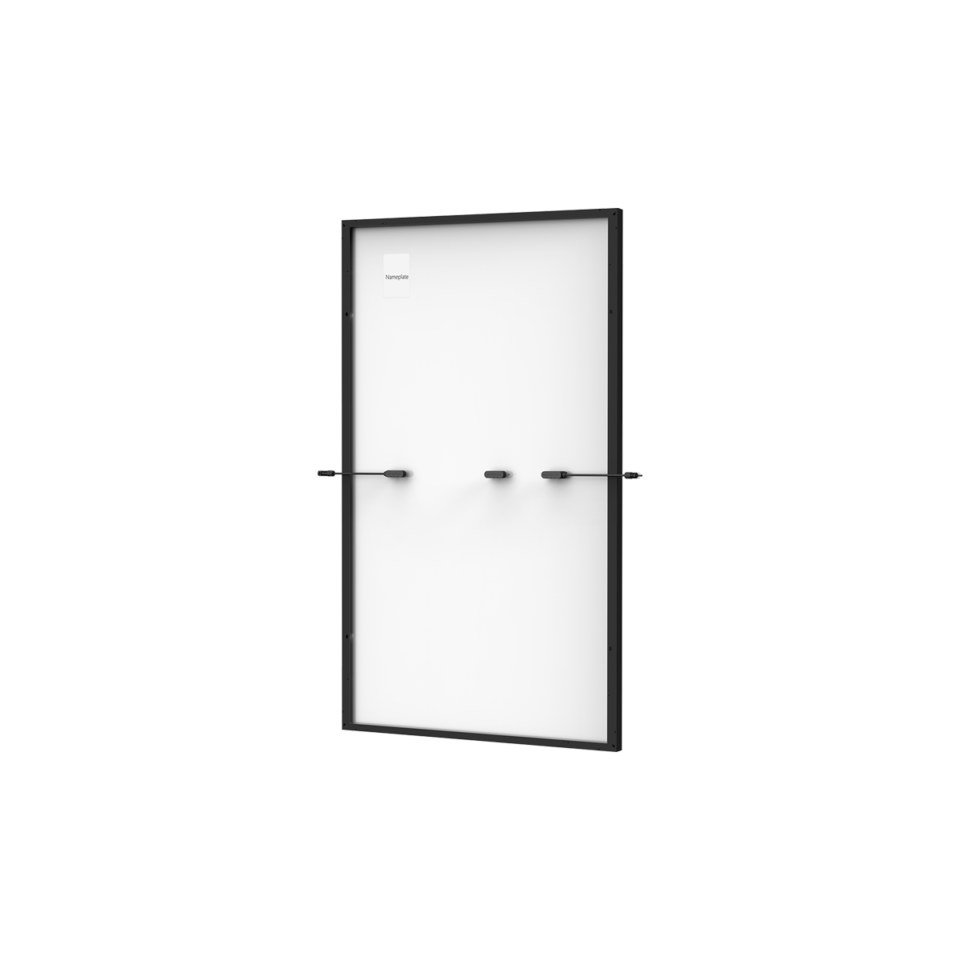 Trina Vertex S Mono PERC 385 W - Komplett Schwarz (Half-Cut 1500V)