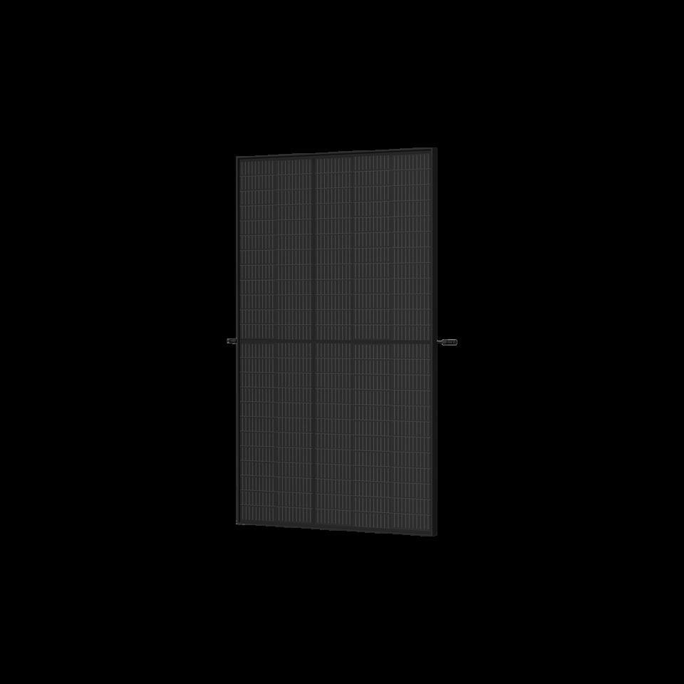 Trina Vertex S Mono PERC 390 W - Komplett Schwarz (Half-Cut 1500V) TS4-L